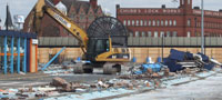 Demolished Wolverhampton bus station