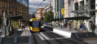 Metrolink second city crossing graphic