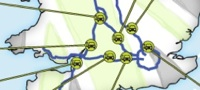 Welcome Break Ecotricity roll out map