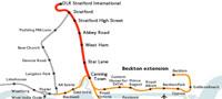 DLR map 2011