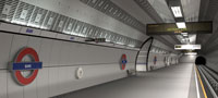 New Southbound Northern line platform at Bank