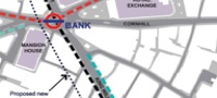 Bank station upgrade map