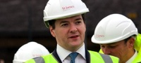 George Osborne visits Battersea development (November 2011)