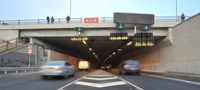 Refurbished Tyne Tunnel opens