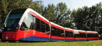 CAF Urbos Belgrade tram
