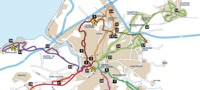 Greater Bristol Bus Network Showcase routes around Bristol
