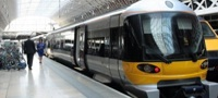 Heathrow Express Class 332 at Paddington