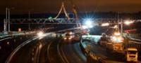 M25 gantry installation January 2012