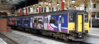 Northern train at Manchester Victoria