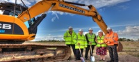 Ryton NDS ground breaking