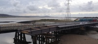Loughor viaduct new deck
