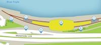 Londonderry station Waterside Link option