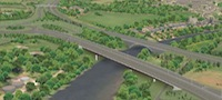 Lune Bridge artist's impression