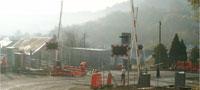 Ebbw Valley line - Limekiln crossing