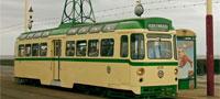 Blackpool vintage tram