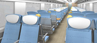 Super Express train interior