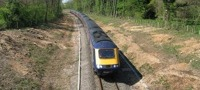 First Great Western train on Cotswold line