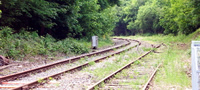 Ebbw Valley line before reopening