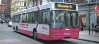 Belfast Metro bus