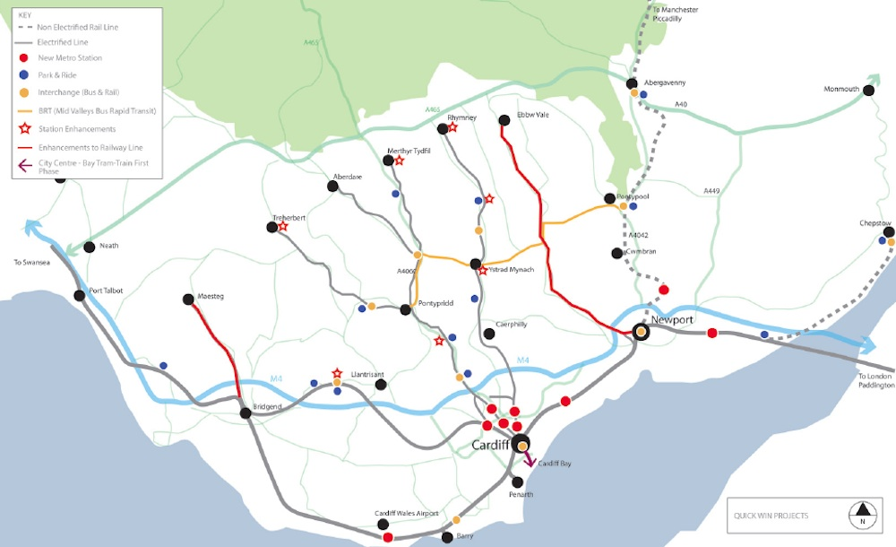 South East Wales Metro quick wins