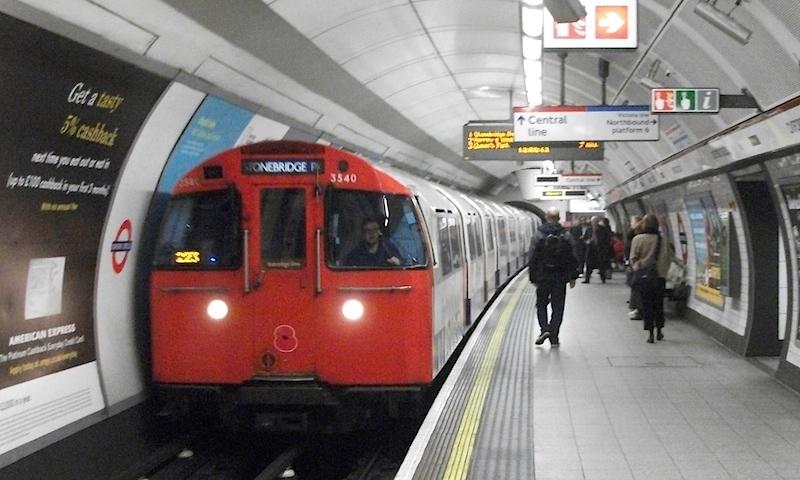 Paddington Bakerloo platform