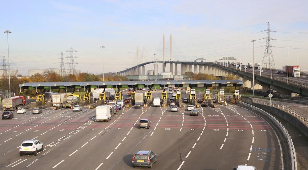 Dartford Crossing toll booths