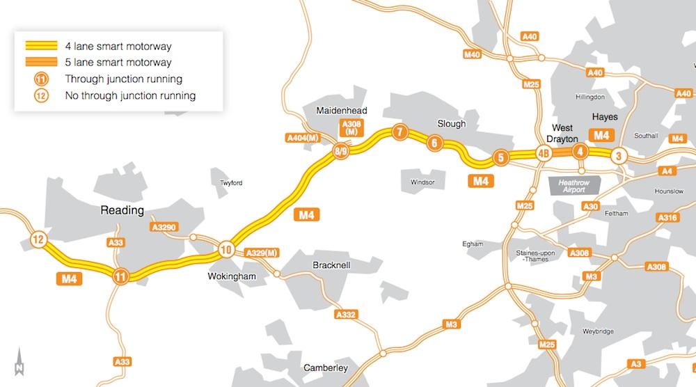M4 smart motorway upgrade