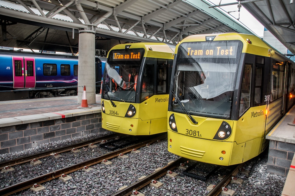 Metrolink Manchester Airport line