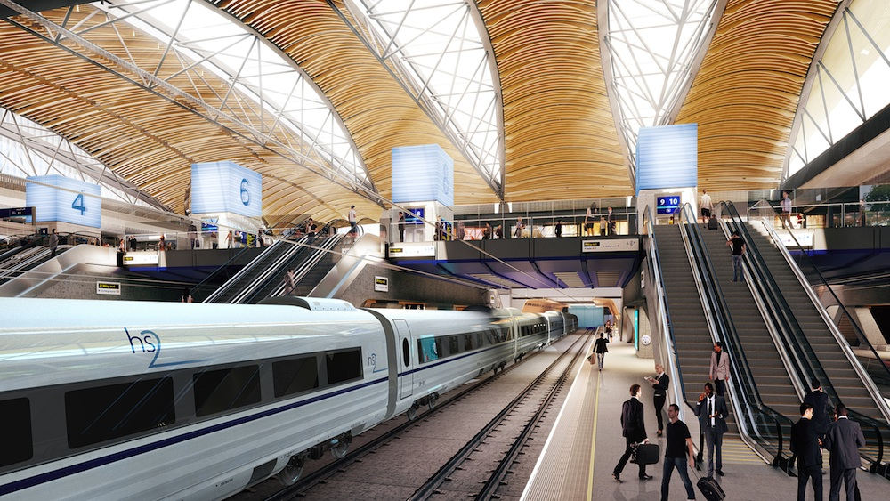 Euston High Speed 2 station (September 2015 design)
