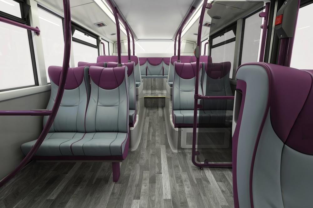 Leigh busway colour option