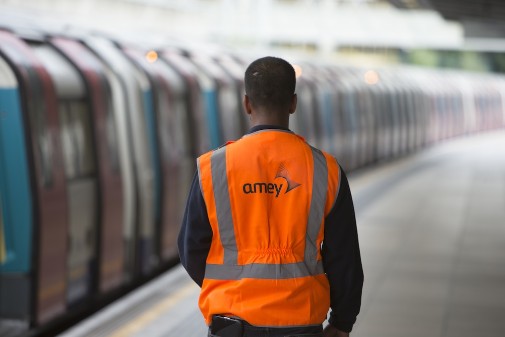 Amey London Underground worker
