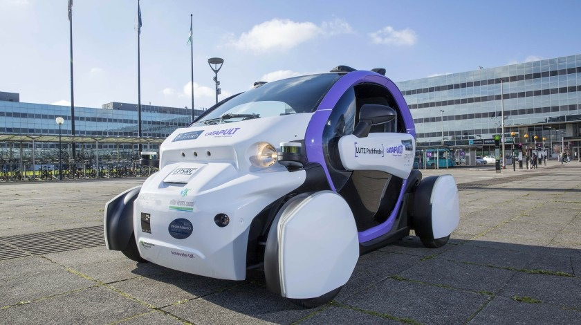 Milton Keynes driverless vehicles