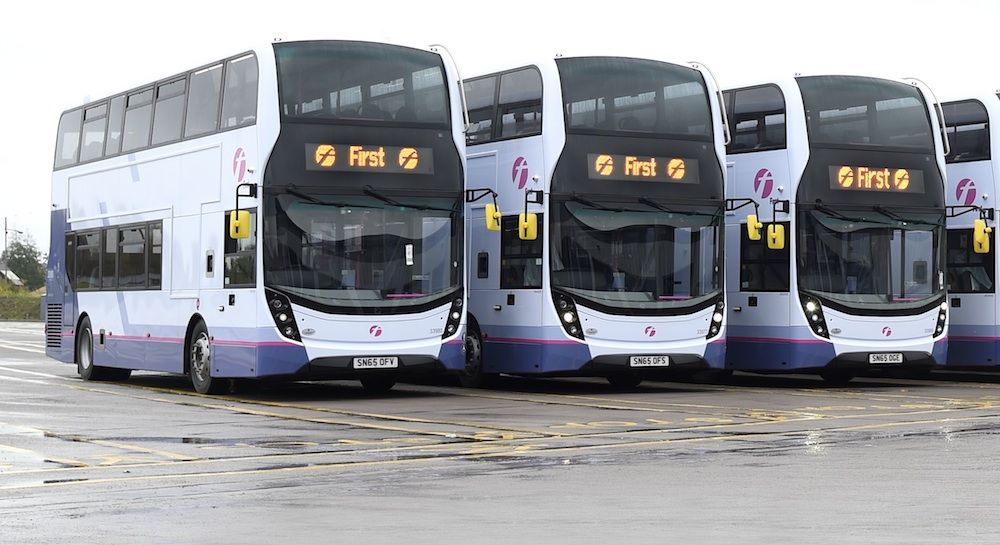 First ADL double deckers