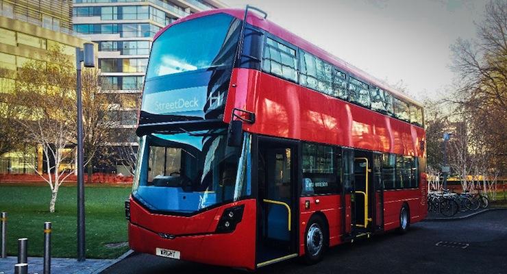 Wrightbus hydrogen double-decker London bus
