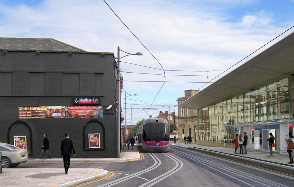 Wolverhampton Midland Metro extension