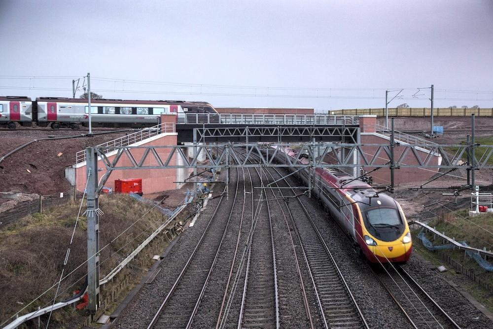 Norton Bridge flyover
