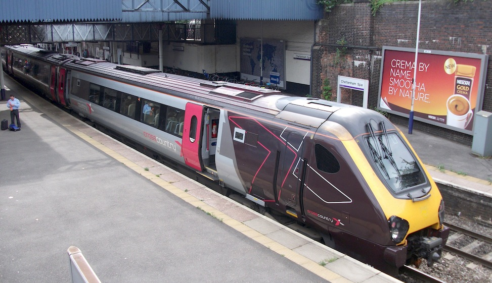 Cross Country train at Cheltenham