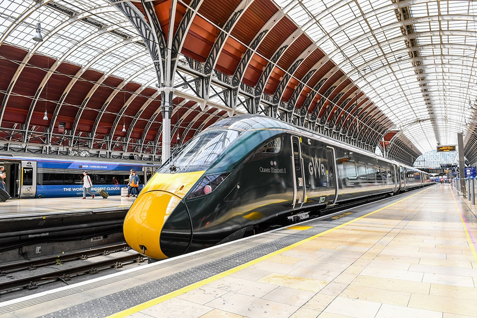 Class 800 at London Paddington