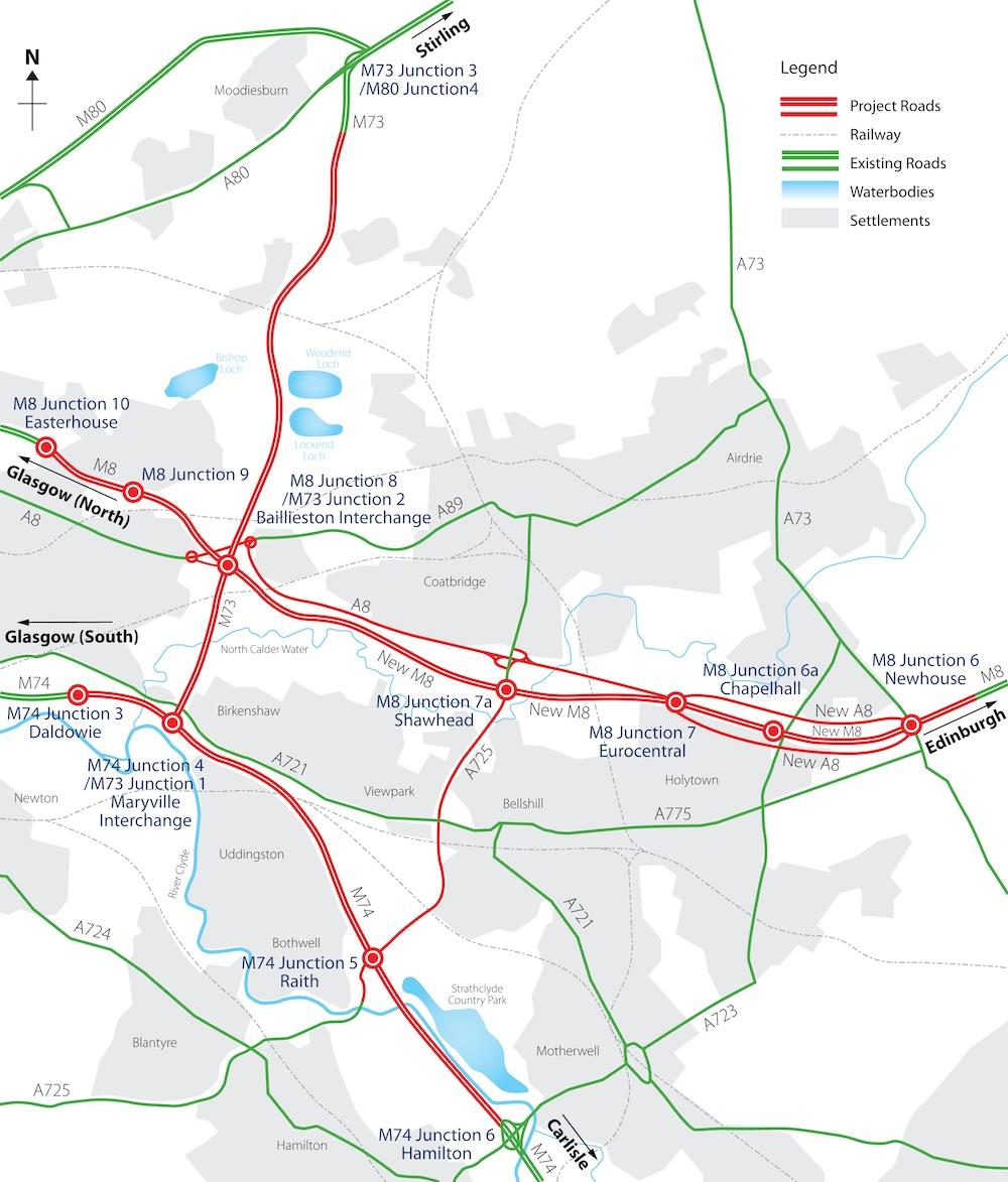 M8-M73-M74 scheme map