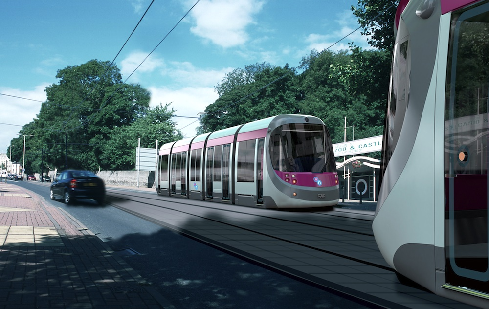Midland Metro extension to Brierley Hill