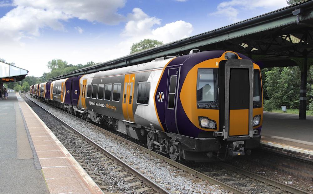 West Midlands Rail branded Class 172 at Stourbridge
