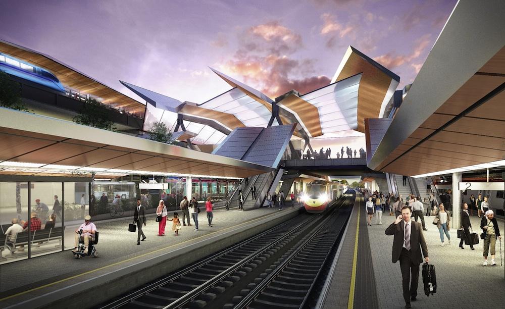 Birmingham International HS2 interchange