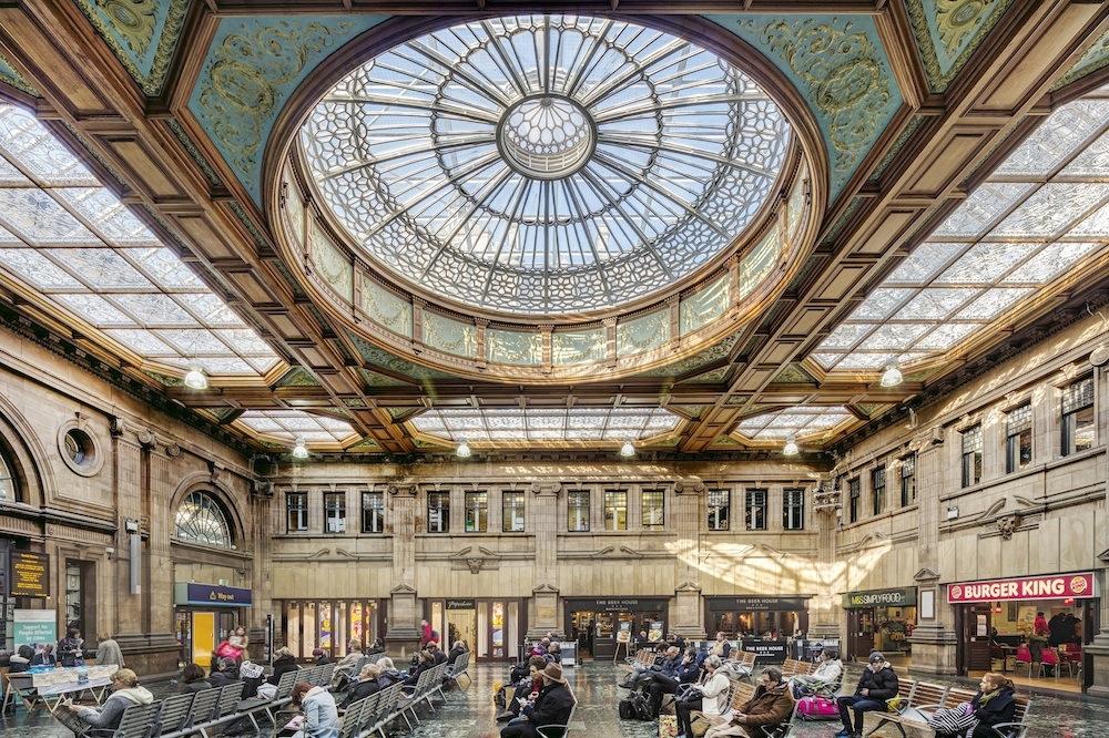 Edinburgh Waverley station concourse