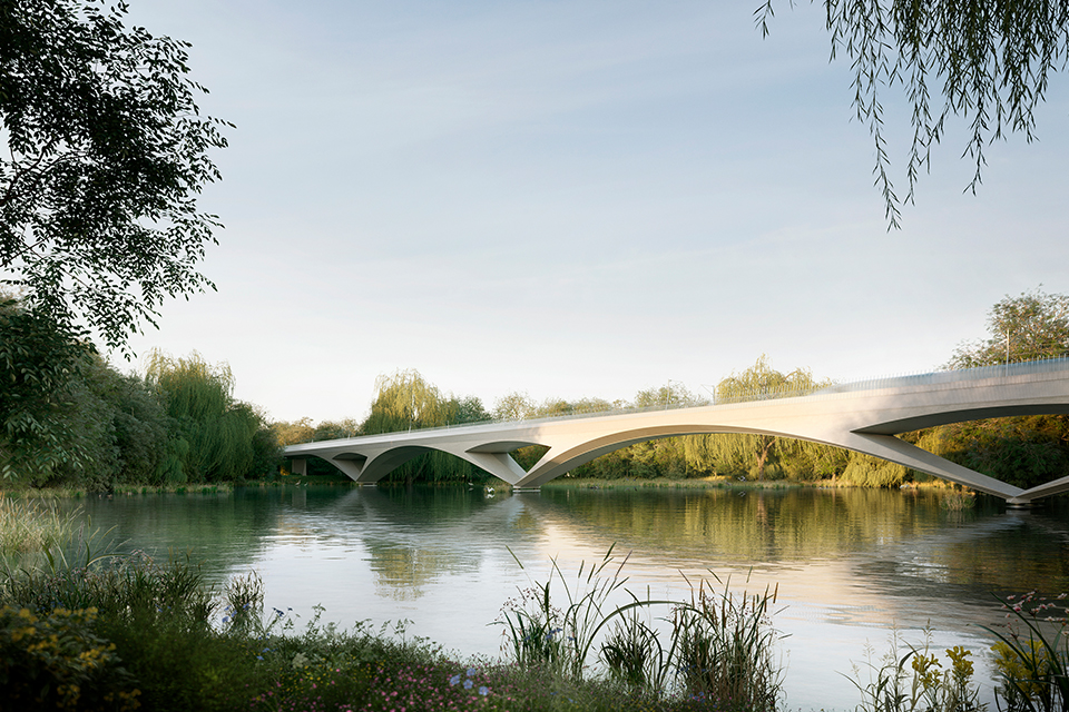 HS2 Colne Valley viaduct concept