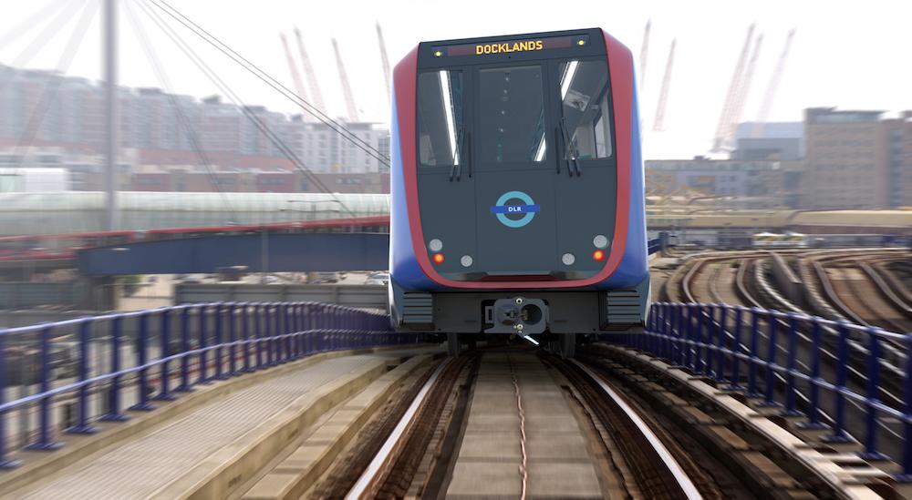 DLR next generation train CGI