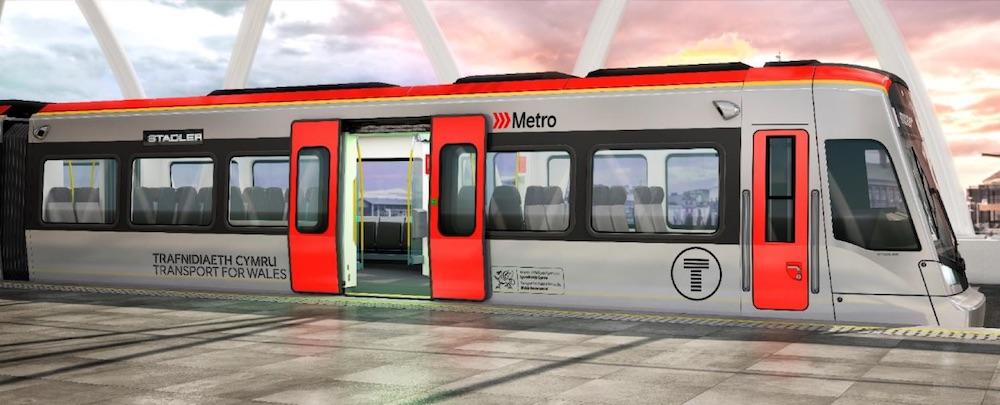 South Wales Metro Stadler train